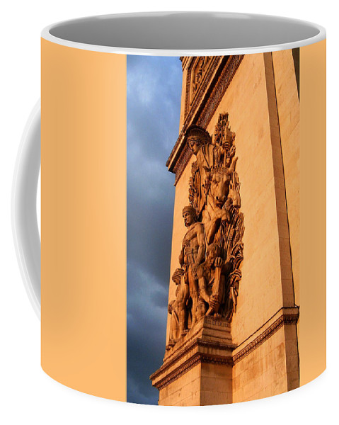 Europe Coffee Mug featuring the photograph Arc De Triomphe by Juergen Weiss