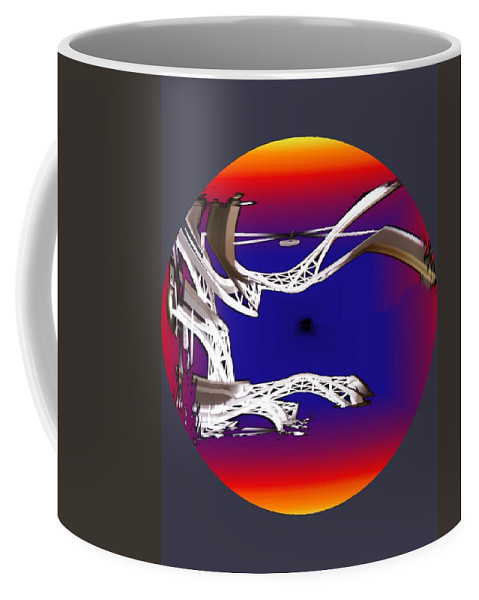 Seattle Coffee Mug featuring the photograph Arches 2 by Tim Allen