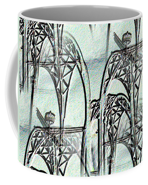 Seattle Coffee Mug featuring the photograph Arches 4 by Tim Allen