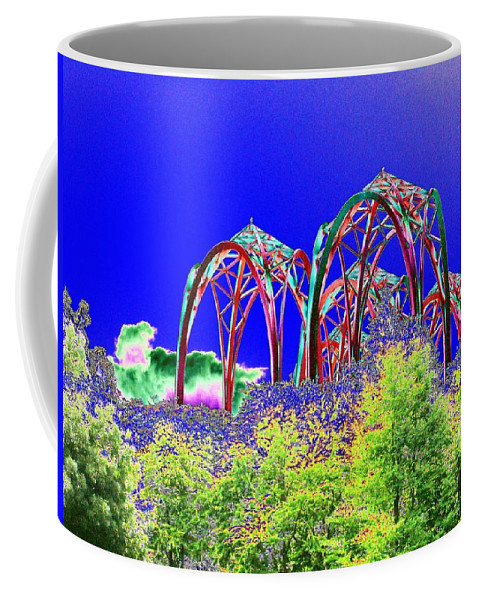 Seattle Coffee Mug featuring the photograph Arches 6 by Tim Allen