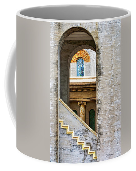 Arch Coffee Mug featuring the photograph Arches Within Arches by Christopher Holmes
