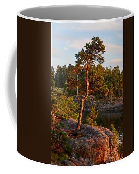 Eken�s Archipelago National Park Coffee Mug featuring the photograph Archipelago Sunset by Jouko Lehto