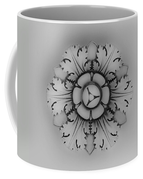 J Paul Getty Coffee Mug featuring the photograph Architectural Element 1 by Teresa Mucha