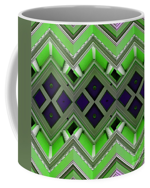Clay Coffee Mug featuring the photograph Architectural Nightmare IIi by Clayton Bruster