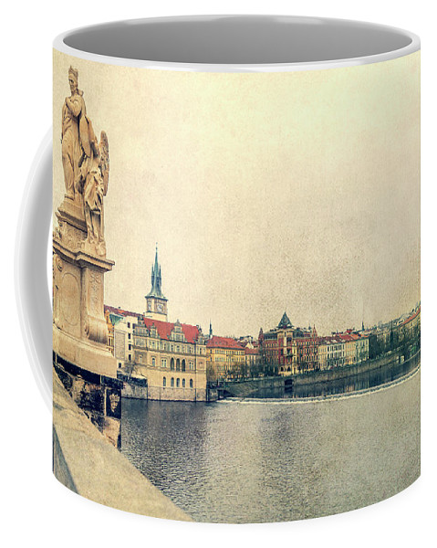 City Coffee Mug featuring the photograph Architecture Of Charles Bridge by Svetlana Sewell