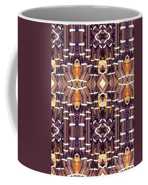 Abstract Coffee Mug featuring the digital art Arctic Pipe by Ron Bissett