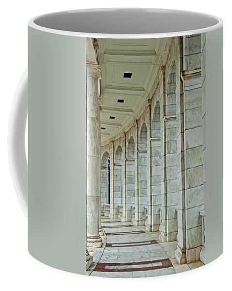 Arlington Coffee Mug featuring the photograph Arlington Cemetary by Jim Cole