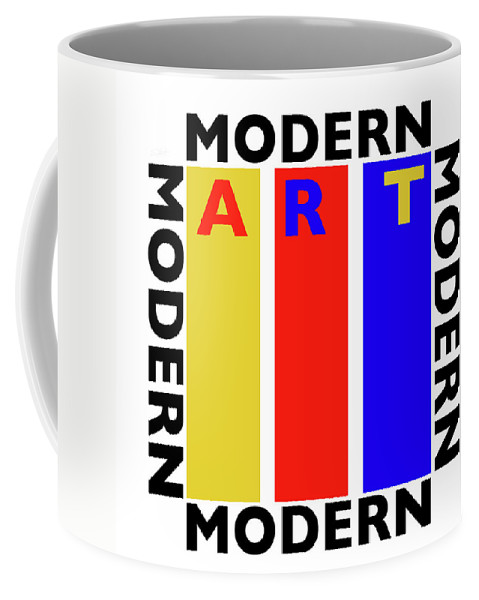 Primary Colors Coffee Mug featuring the painting Art by Charles Stuart