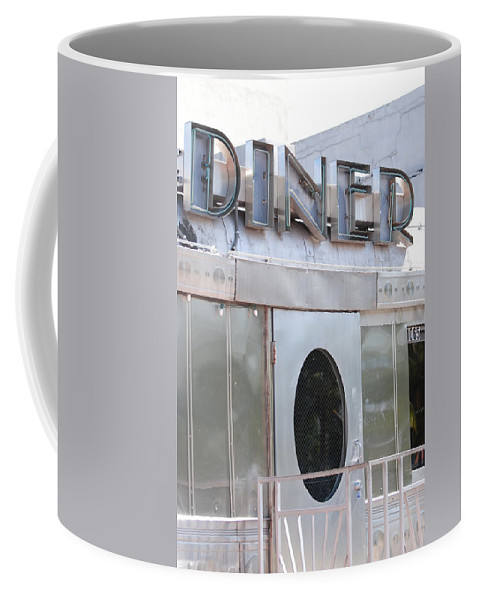 Architecture Coffee Mug featuring the photograph Art Deco Diner by Rob Hans