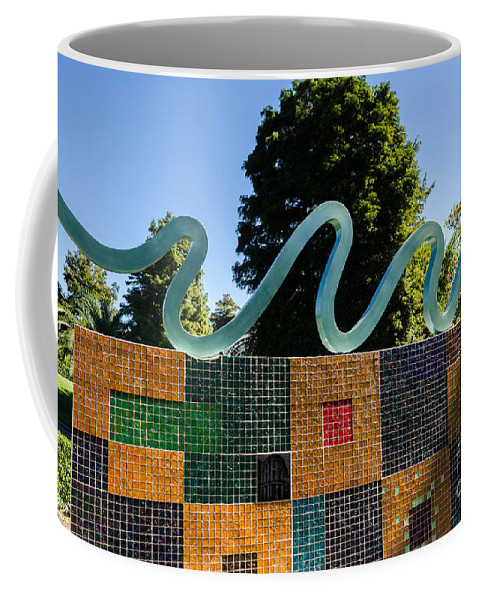 Modern Art Coffee Mug featuring the photograph Art In The Park - Louis Armstrong Park - New Orleans by Debra Martz