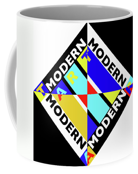 Primary Colors Coffee Mug featuring the painting Art Modern by Charles Stuart