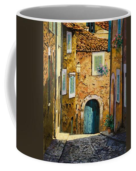 Landscape Coffee Mug featuring the painting Arta-mallorca by Guido Borelli