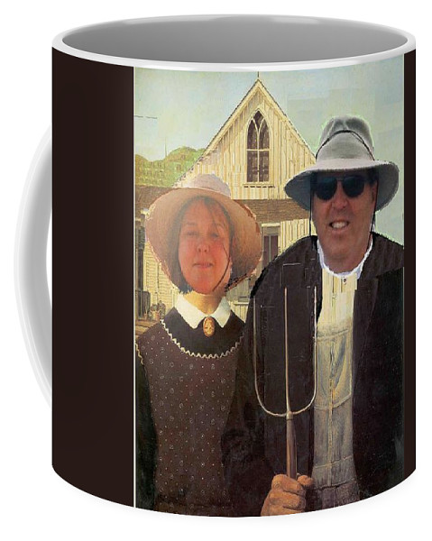 Artist Coffee Mug featuring the painting Artist Eric Michael Schiabor by Eric Schiabor