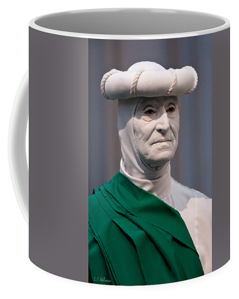 Artist Coffee Mug featuring the photograph Artist In The Pale by Christopher Holmes