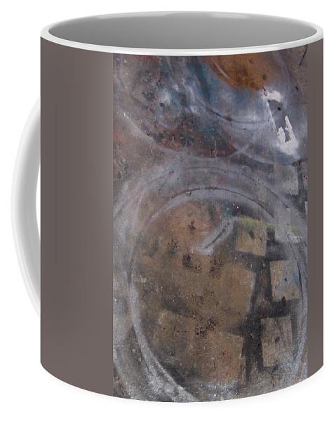 Artist Coffee Mug featuring the photograph Artist Sidewalk 1 by Anita Burgermeister