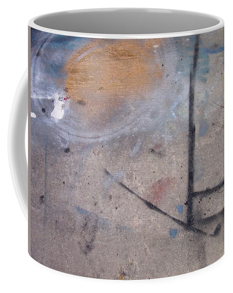Artist Coffee Mug featuring the photograph Artist Sidewalk 2 by Anita Burgermeister