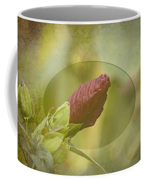 Hibiscus Rosa-sinensis Coffee Mug featuring the photograph Artistic Hibiscus 2015-1 by Thomas Young