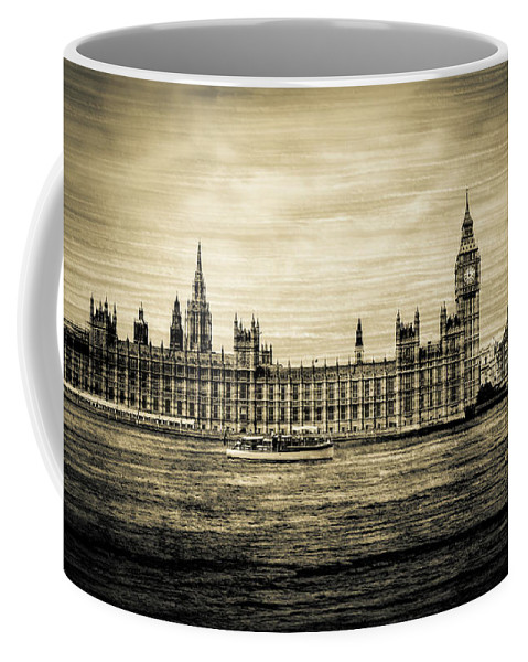 Architecture Coffee Mug featuring the photograph Artistic Vision Of Elizabeth Tower Big Ben And Westminster by Jacek Wojnarowski