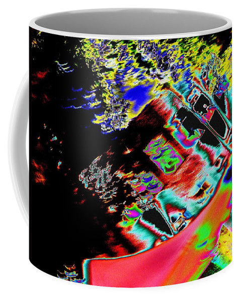 Seattle Coffee Mug featuring the photograph Artwalk Abstract by Tim Allen