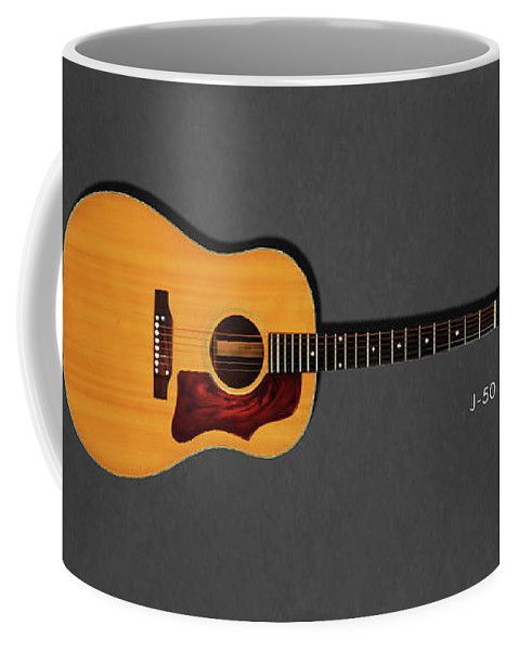 Gibson J-50 Coffee Mug featuring the photograph Gibson J-50 1967 by Mark Rogan