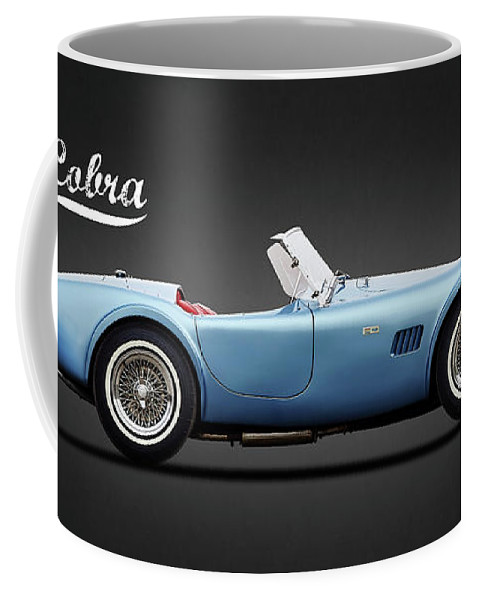 Shelby Cobra Coffee Mug featuring the photograph Shelby Cobra 289 1964 by Mark Rogan