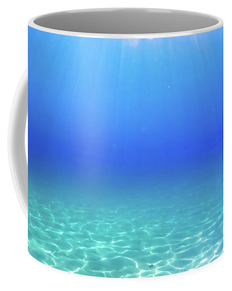 Turquoise Coffee Mug featuring the photograph One Deep Breath by Nicklas Gustafsson