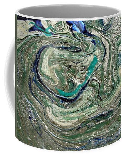 As It Were Coffee Mug featuring the painting As It Were by Dawn Hough Sebaugh