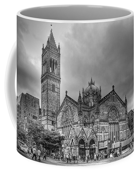 Boston Coffee Mug featuring the photograph As The World Passes By... by Evelina Kremsdorf