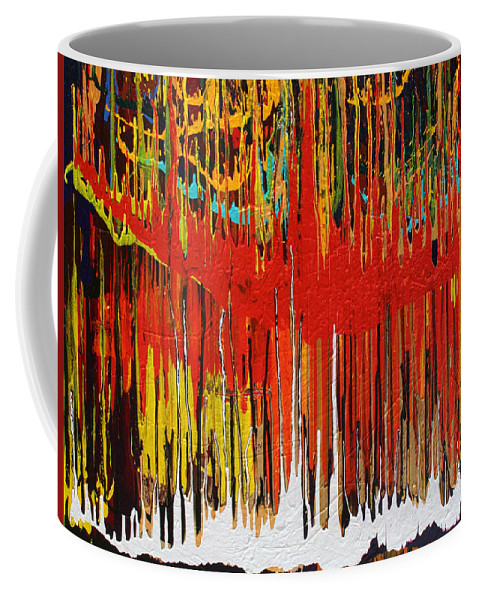 Fusionart Coffee Mug featuring the painting Ascension by Ralph White