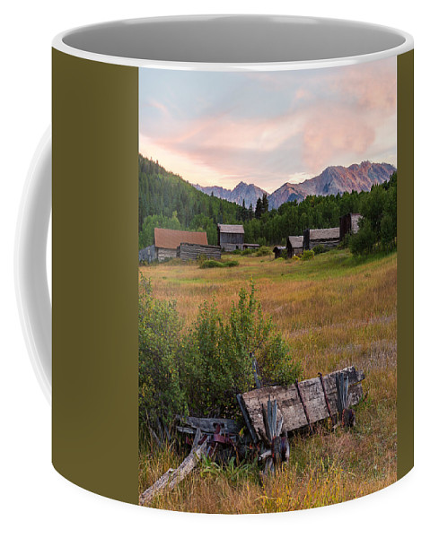 Ashcroft Ghost Town Coffee Mug featuring the photograph Ashcroft Ghost Town by John Vose