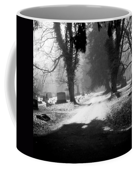 Photograph Coffee Mug featuring the photograph Ashland Cemetery by Jean Macaluso