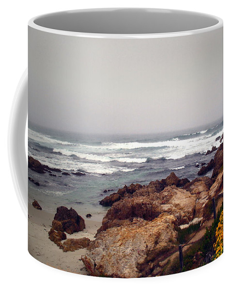 Asilomar Coffee Mug featuring the photograph Asilomar Beach Pacific Grove Ca Usa by Joyce Dickens
