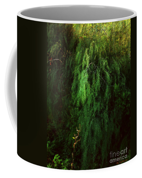 Asparagus Coffee Mug featuring the painting Asparagus Jungle by RC deWinter