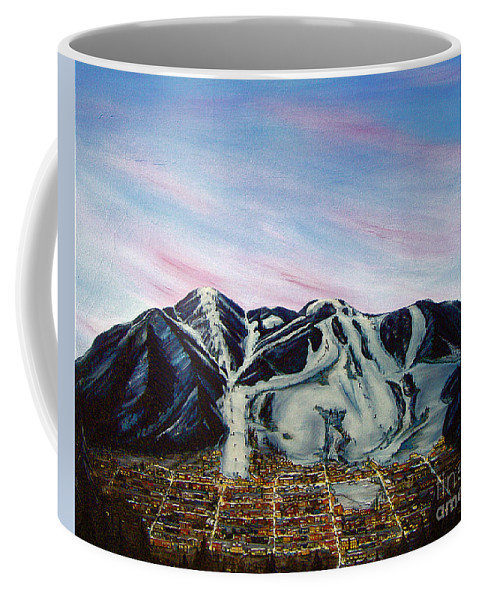 Aspen Coffee Mug featuring the painting Aspen by Jerome Stumphauzer