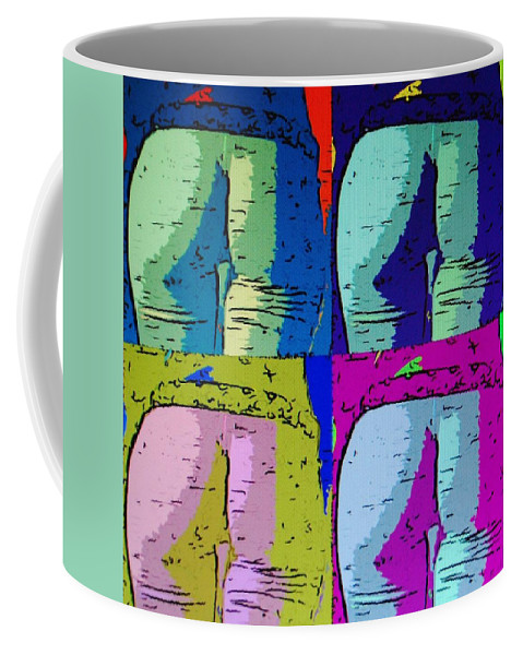Ass Coffee Mug featuring the photograph Ass Colors by Rob Hans