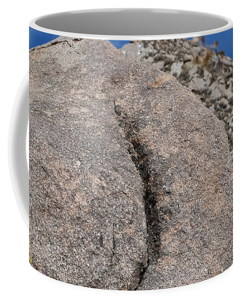 Pop Art Coffee Mug featuring the photograph Ass Rock New Mexico by Rob Hans