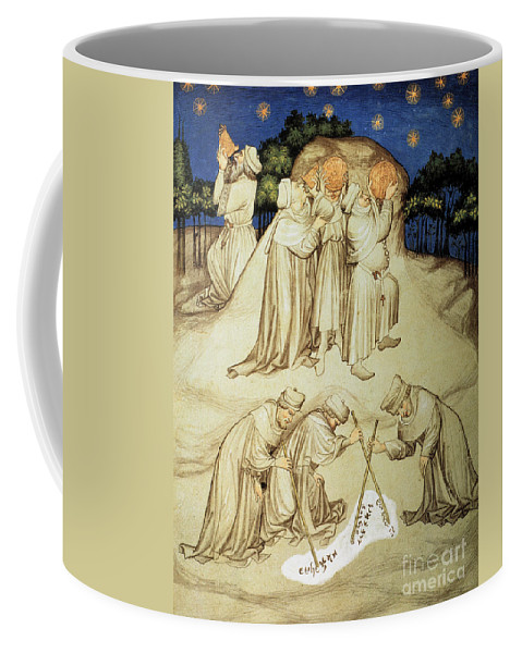 15th Century Coffee Mug featuring the photograph Astronomers by Granger