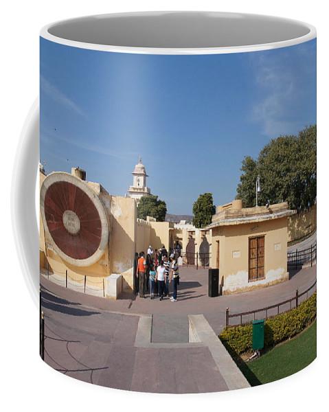 Astronomy Of Giants. Narivalaya Yantra. Jantar Mantar Coffee Mug featuring the photograph Astronomy Of Giants. Narivalaya Yantra. by Elena Perelman
