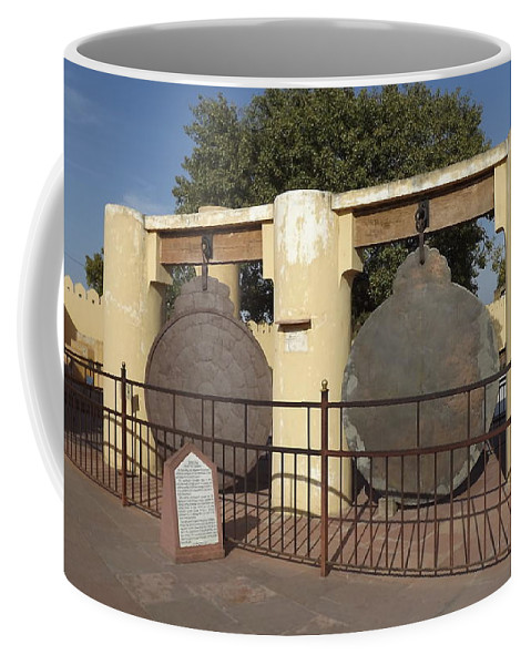 Astronomy Of Giants. Yantra Raj. The King Of Instruments Coffee Mug featuring the photograph Astronomy Of Giants. Yantra Raj. by Elena Perelman