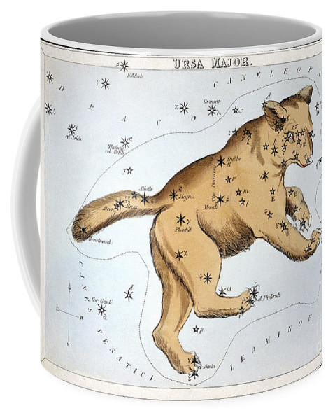 1825 Coffee Mug featuring the photograph Astronomy: Ursa Major by Granger