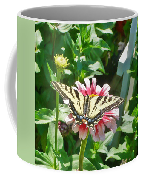 Butterfly Coffee Mug featuring the photograph At Rest by 'REA' Gallery