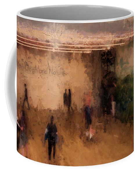 Museum Coffee Mug featuring the photograph At The Clark Ix by Tina Baxter
