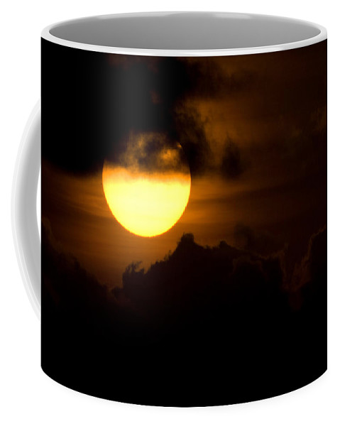 Cloud Coffee Mug featuring the photograph At The End Of The Day by Max Steinwald