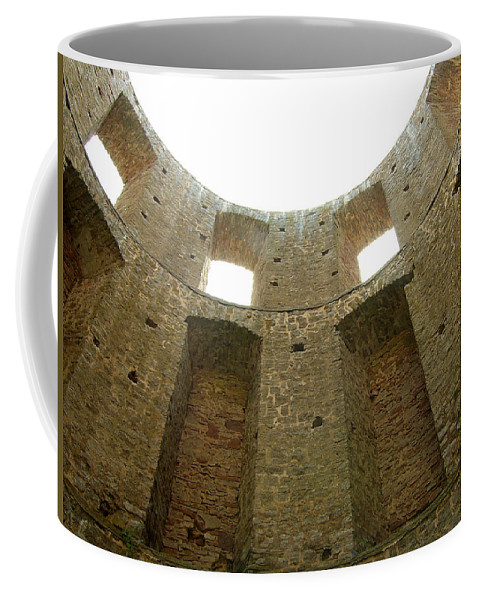 Tower Coffee Mug featuring the photograph At The Inside by Are Lund