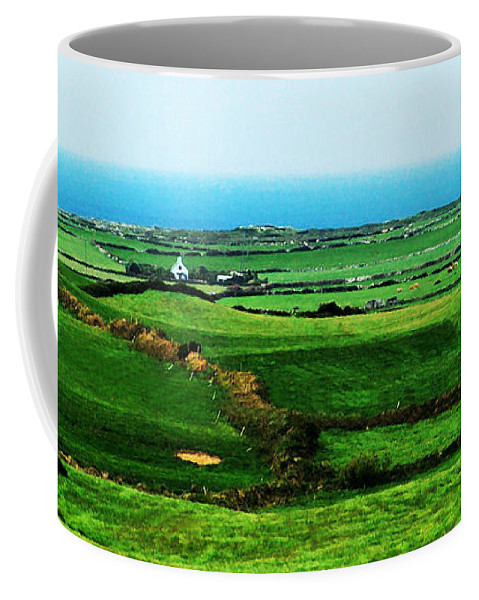 Ireland Coffee Mug featuring the photograph Atlantic View Doolin Ireland by Teresa Mucha