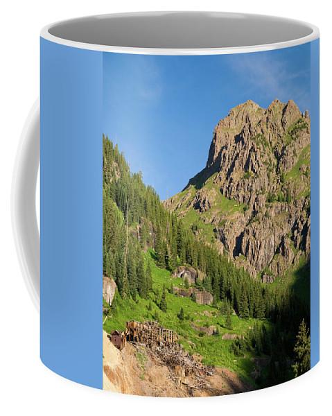 Colorado Coffee Mug featuring the photograph Atlas Mine by Steve Stuller