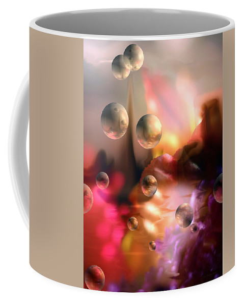 Bright Coffee Mug featuring the photograph Atmospheres... by Arthur Miller
