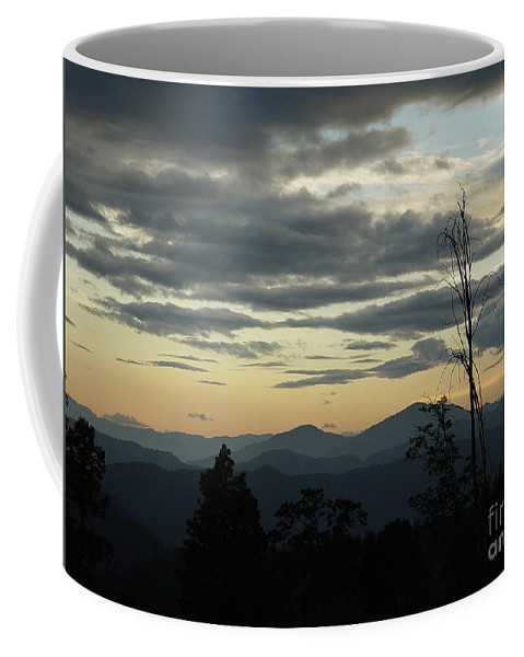 Atmospheric Coffee Mug featuring the photograph Atmospheric Perspective by Peter Piatt