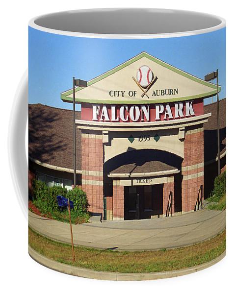 America Coffee Mug featuring the photograph Auburn, Ny - Falcon Park by Frank Romeo