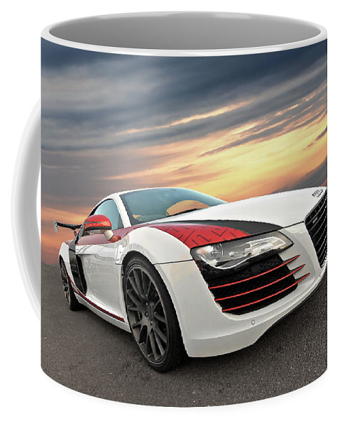 Audi R Stasis At Sunset Coffee Mug For Sale By Gill Billington - Audi stasis